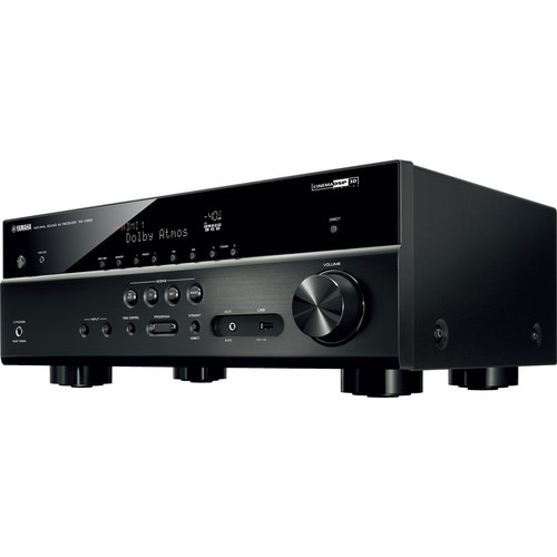 Yamaha rx v583 7 2 channel network a v receiver symphony for Yamaha 7 2 home theatre system