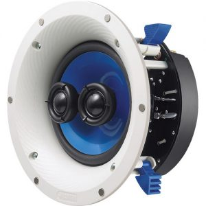 Yamaha NS-ICS600 6.5″ Single Stereo In-Ceiling Speaker (White)