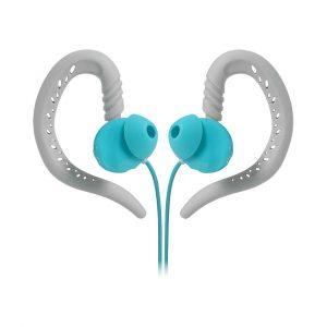 JBL JBLFOCU100TEL Behind-The-Ear Sport Sweat Proof Headphones with Twistlock Technology
