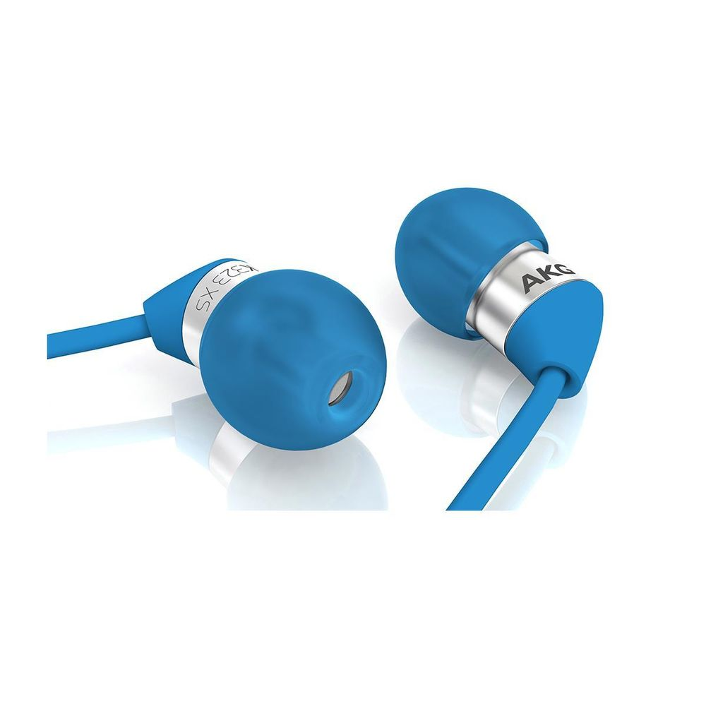 akg k323xs ultra tiny in ear headphones blue symphony. Black Bedroom Furniture Sets. Home Design Ideas