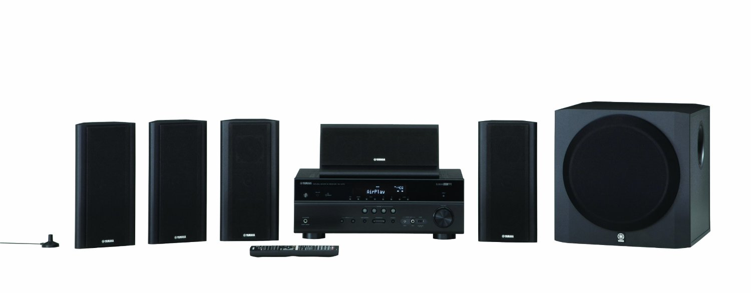 Yamaha yht 799ubl high quality durable 115w 5 1 channel av for Yamaha home stereo systems