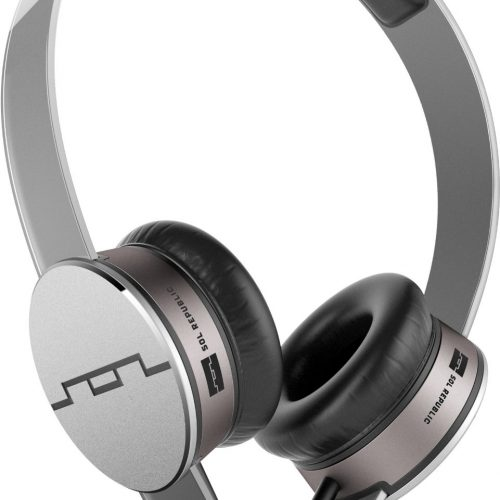605c4213b71 SOL REPUBLIC 1241-04 Tracks HD On-Ear Headphones with Three-Button Remote
