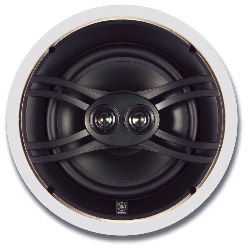 Yamaha ns iw480cwh natural sound 3 way in wall in for Yamaha speakers system