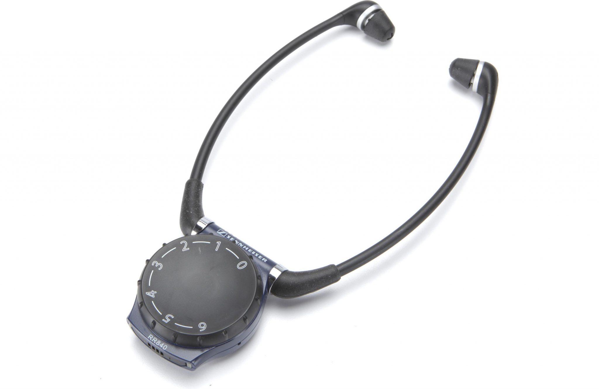 Sennheiser Set 840 Tv Wireless Rf Tv Listening System For