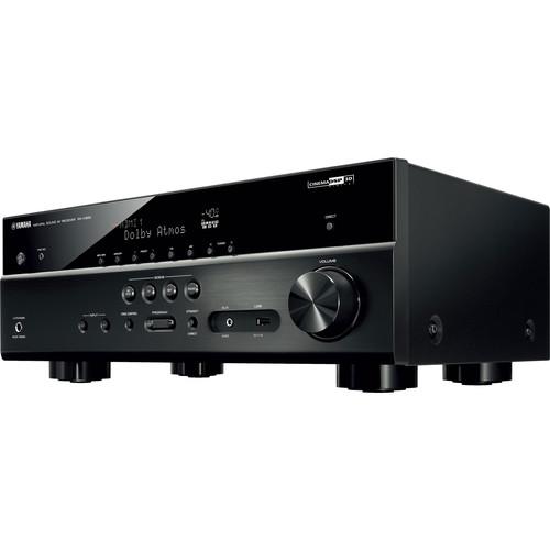 Yamaha rx v583 7 2 channel network a v receiver symphony for Yamaha tv receiver