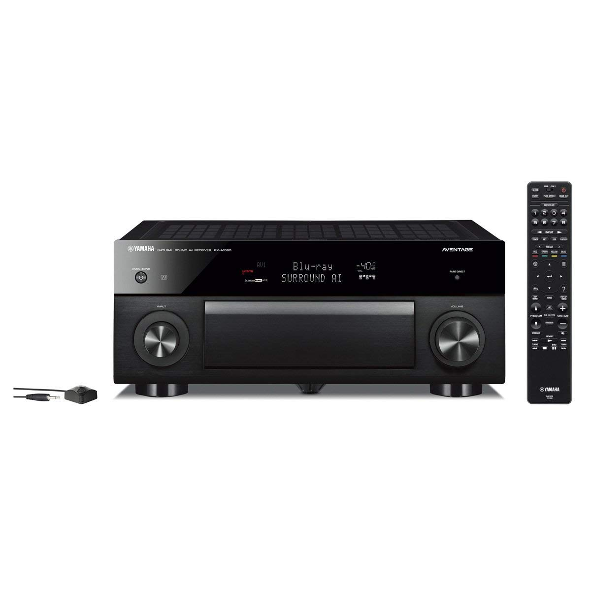 Yamaha AVENTAGE RX A1080BL 72 Channel Network A V Receiver